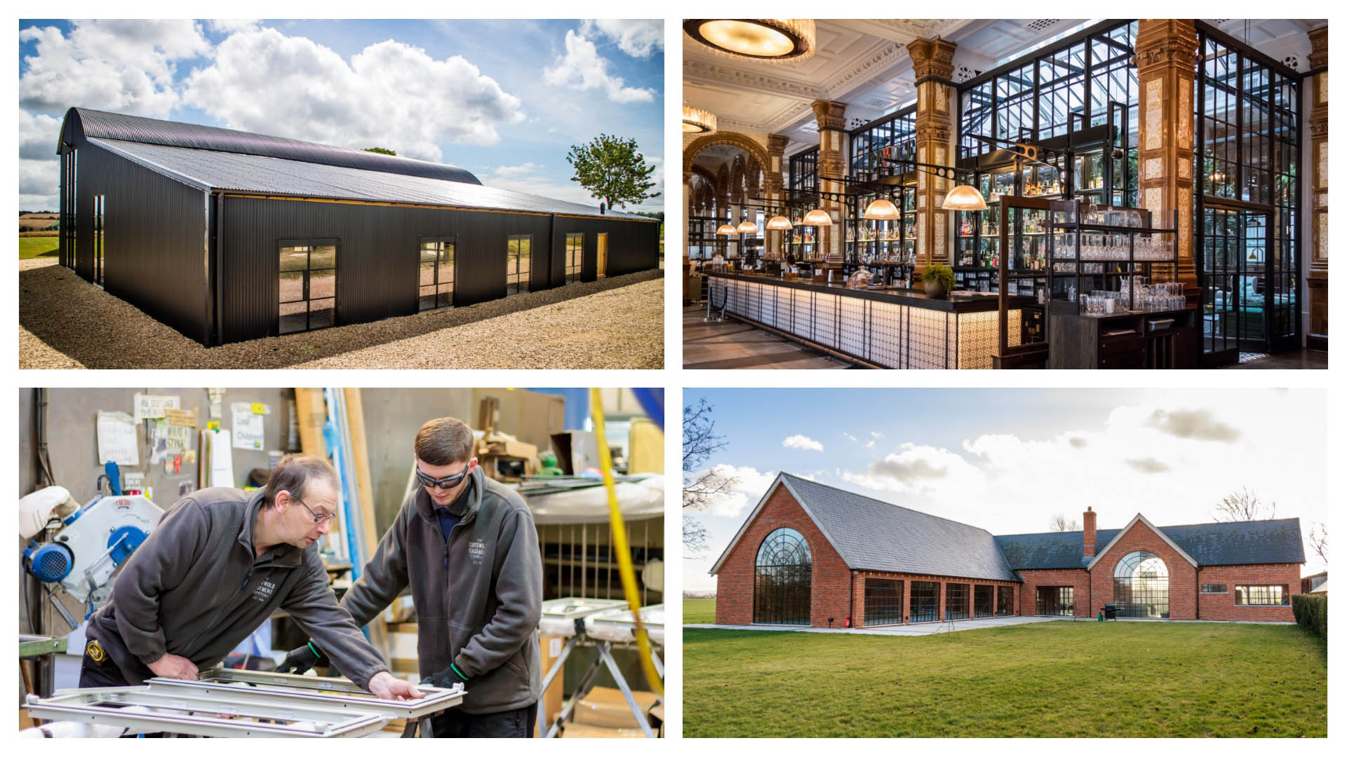Cotswold Casements Factory and Window Marketing Project Photography