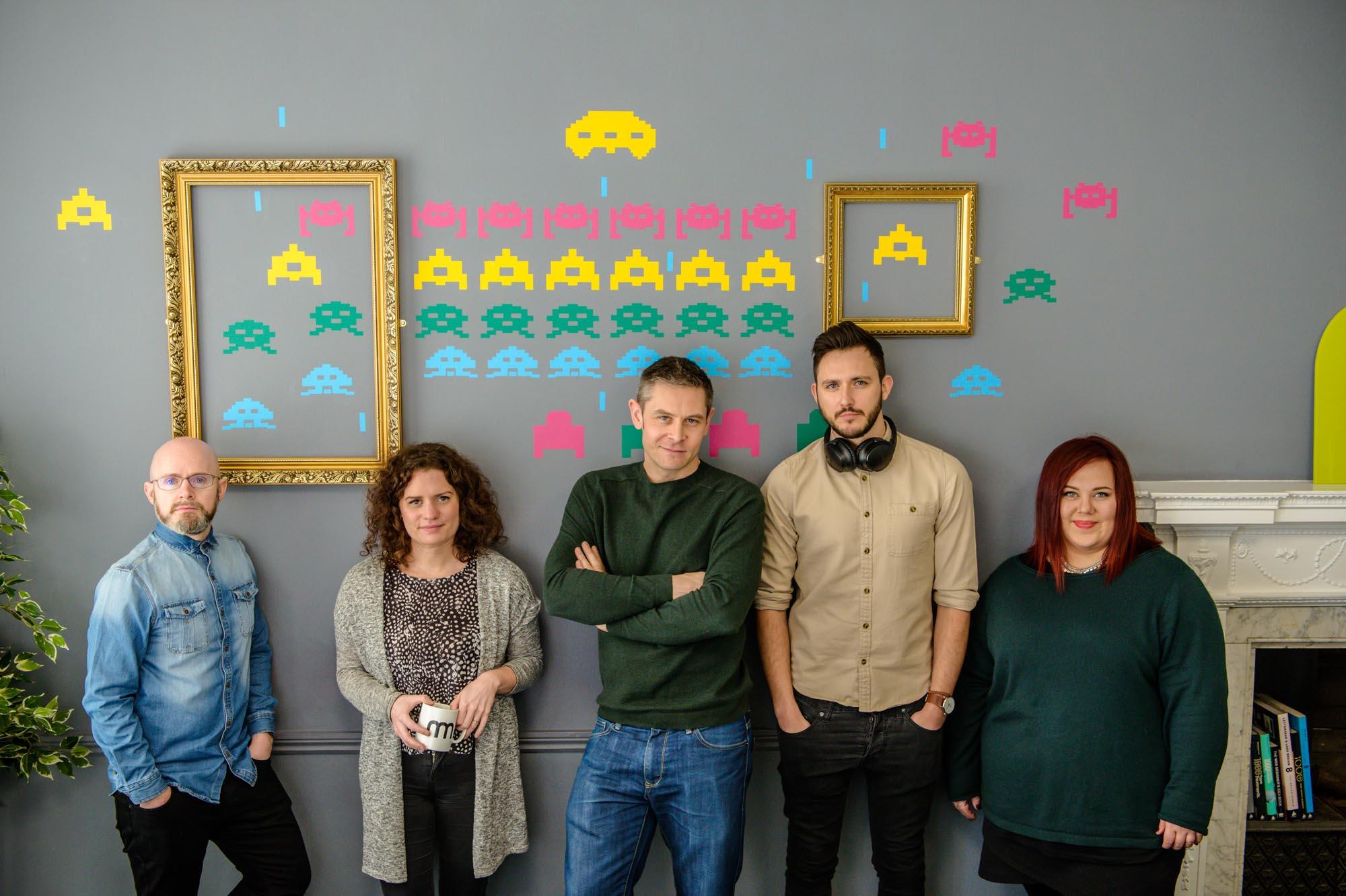 Team Portraits & Marketing Photography Coventry Warwickshire Birmingham Midlands Photographer UK